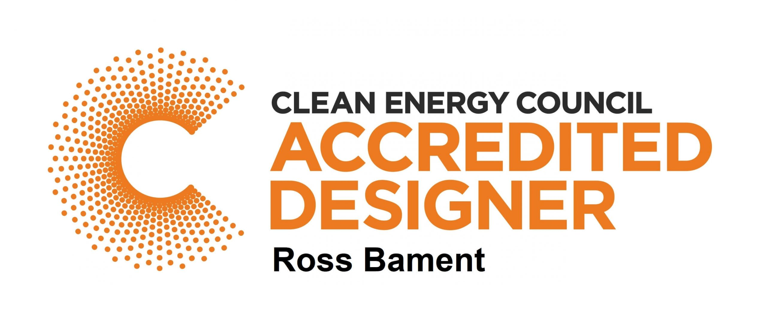 Clean Energy Council Solar Accredited Designer logo